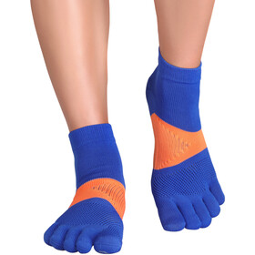 Knitido MTS Tornado Running Socks, bleu/orange